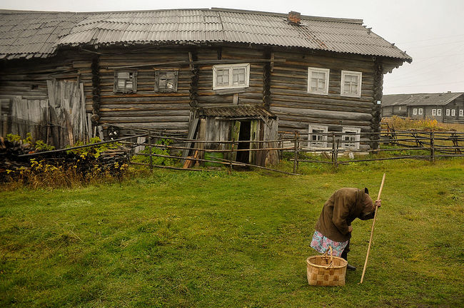 Arik Shraga. Disappearing villages. The last resident of Kochmogora